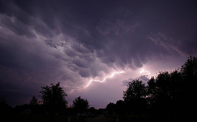 Six British holidaymakers struck by lightning in southeastern France