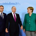Merkel, Macron urge Russia and Ukraine to 'abide by commitments' and back ceasefire