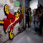 Thieves strip 'Space Invader' mosaics from Paris walls