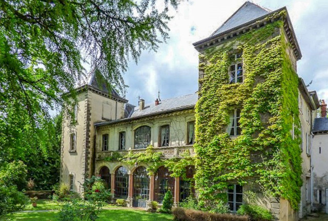 French Property of the Week: Stunning castle with mountain views over the Rhône Valley