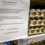 French government publishes first list of products linked to contaminated eggs