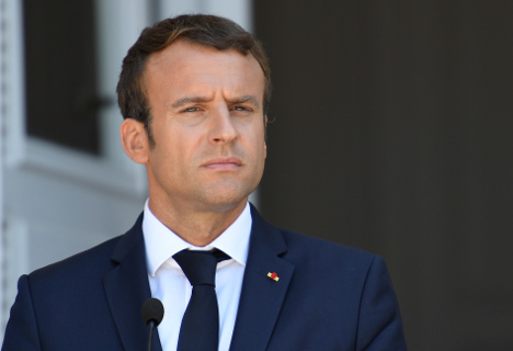 Make-up bill causes blushes for France's Macron