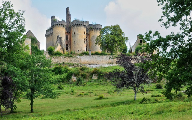 For just €50, you can own a castle in the Dordogne