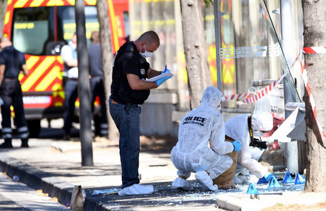 One killed in car-ramming at Marseille bus stop, French police