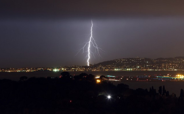 Eight teenagers struck by lightning in central France