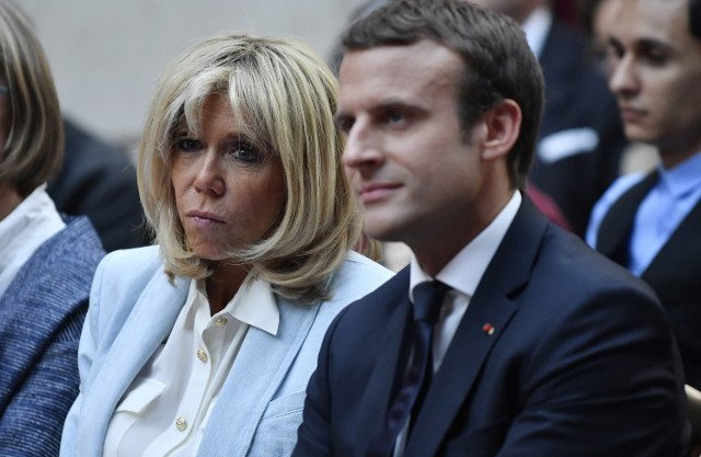 Macron backpedals on creating official 'first lady' status for his wife