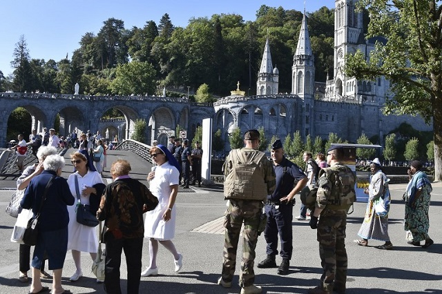 High security in Lourdes ahead of annual pilgrimage