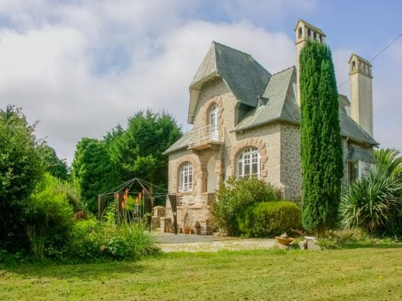 French property of the week: Art Deco house on Brittany's pink granite coast
