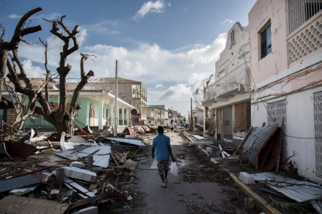 Hurricane Irma 'one of the worst disasters experienced by France in 35 years'