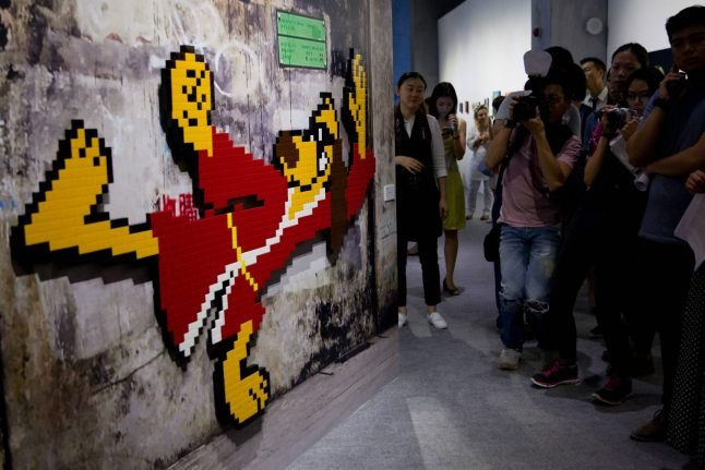 Police arrest men suspected of stealing Space Invader mosaics from Paris walls