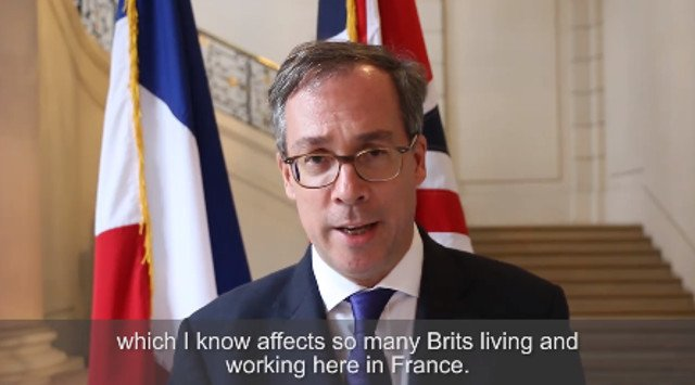 Anxious Brits in France blast UK ambassador over Brexit 'progress' claims