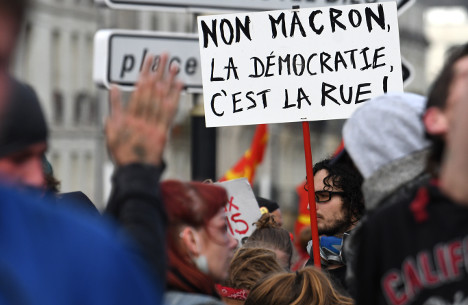 French left to stage street showdown over Macron reforms