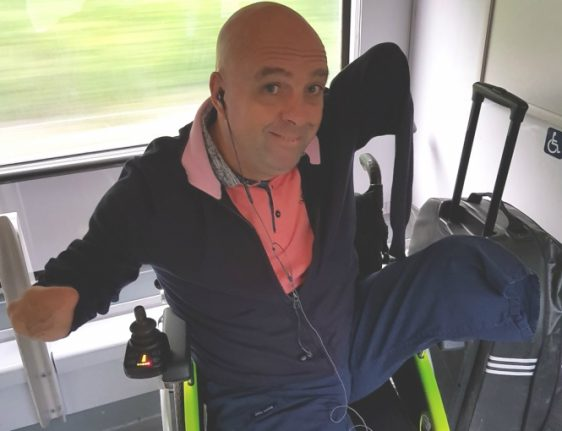 French train inspector demands limbless man prove he's disabled