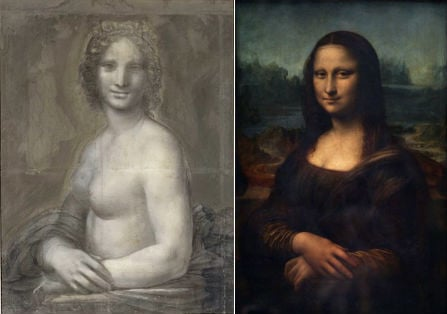 French convinced they have unearthed nude sketch of Mona Lisa