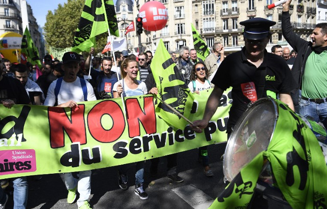 'It's just the beginning': France sees fresh labour reform protests