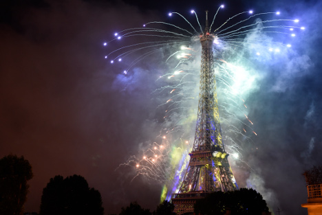 Eiffel Tower to celebrate 300 millionth visitor with the sound of music