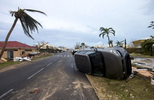 IN PICTURES: Hurricane Irma leaves trail of destruction in French Caribbean