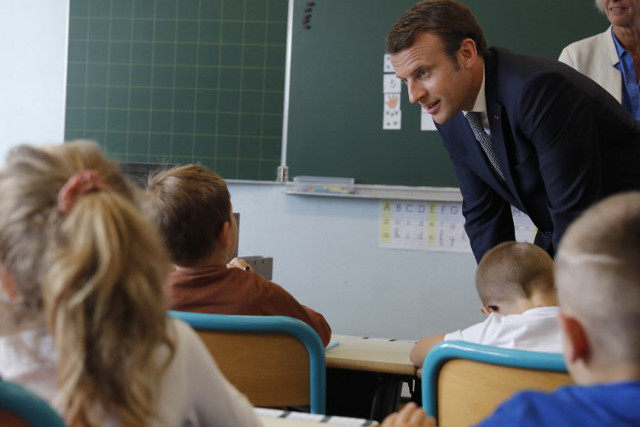 France goes back to school as reforms get underway