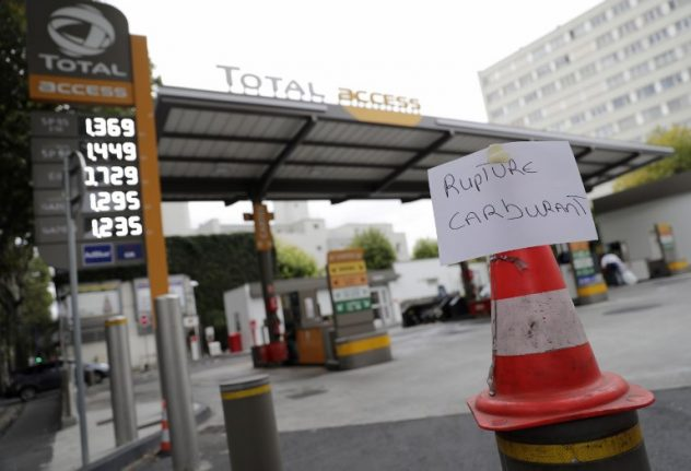 France faces more empty petrol stations as truckers' protests rumble on