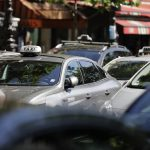 Paris taxi drivers declare war on new ride hailing app Taxify