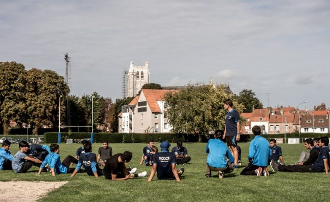 Refugees help introduce France to the beautiful game of... cricket