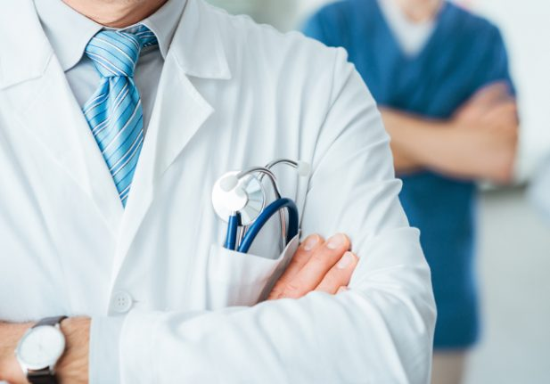 Where in France is there a shortage of doctors?