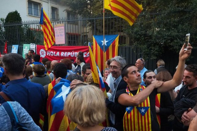 French Catalans offer separatists help and refuge