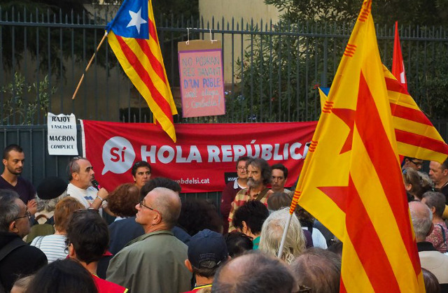 Catalan independence would not be recognised, says France