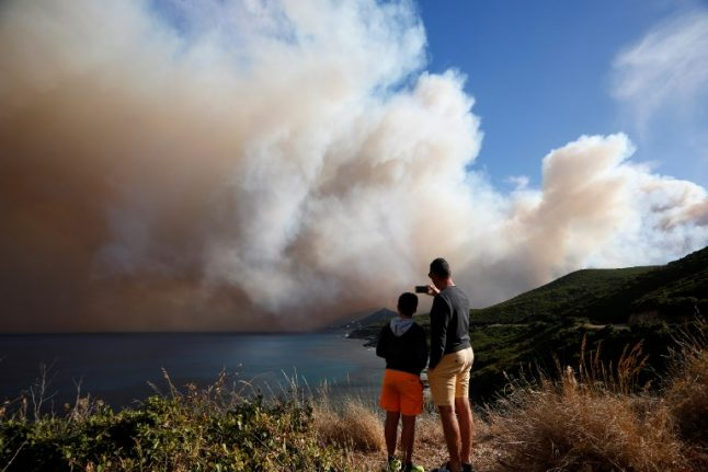 Corsica wildfire ravages 2,000 hectares of forest