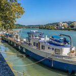 French property of the week: Luxury houseboat with outdoor pool in Lyon