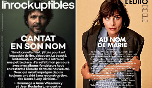 French rock magazine 'regrets' giving front cover to singer who killed girlfriend