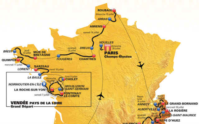 VIDEO: Discover the route for the 2018 Tour de France