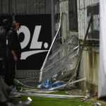 Row over French stadium accident that left 29 hurt
