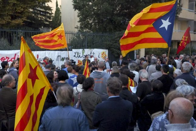 French Catalans offer to host 'government in exile' as tensions rise in Spain