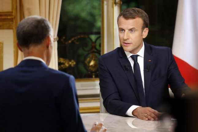 'I am doing what I said': Macron defends record in live TV grilling