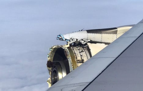 Investigators probe Air France A380 after engine blow-out
