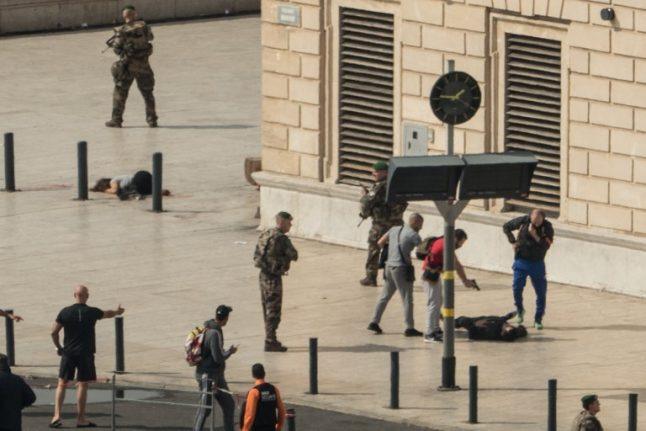 French police arrest two over deadly Marseille train station attack