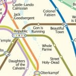 'Racist' English version of Paris Metro map causes outrage