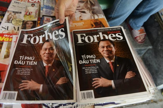 Forbes launches French edition to chart Macron's 'startup nation'