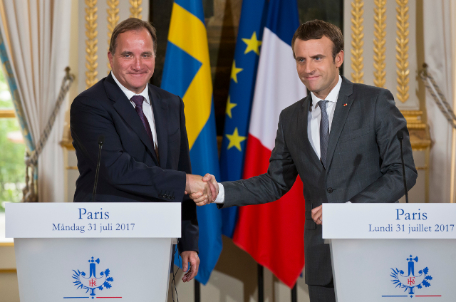 Löfven and Macron team up to boost green innovation