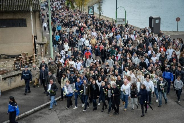 Thousands march for murdered French jogger