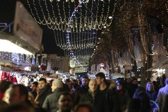 French court backs scrapping of Champs-Elysées Christmas market