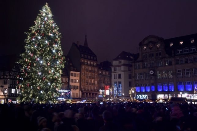Strasbourg's Christmas preparations up in the air as second giant tree cracks under pressure