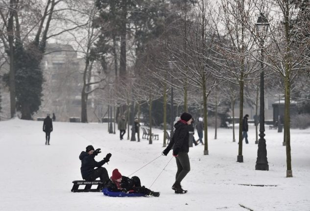 Here comes the snow: 50 departments in France placed on alert