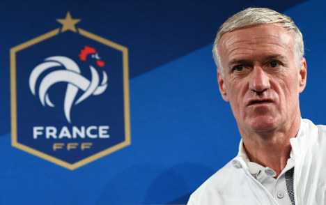 French football chief 'very careful' over threat against coach Deschamps