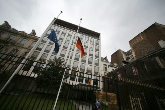 German embassy in Paris accused of undeclared staff payments and wrongful dismissal