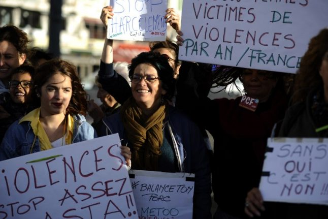 Complaints of sexual violence rocket in France after Weinstein scandal