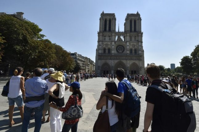 Question: Should visitors have to pay to visit Notre-Dame Cathedral in Paris?