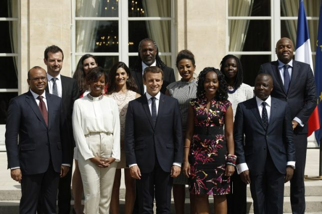 Macron bids to boost France's flagging influence on visit to Africa