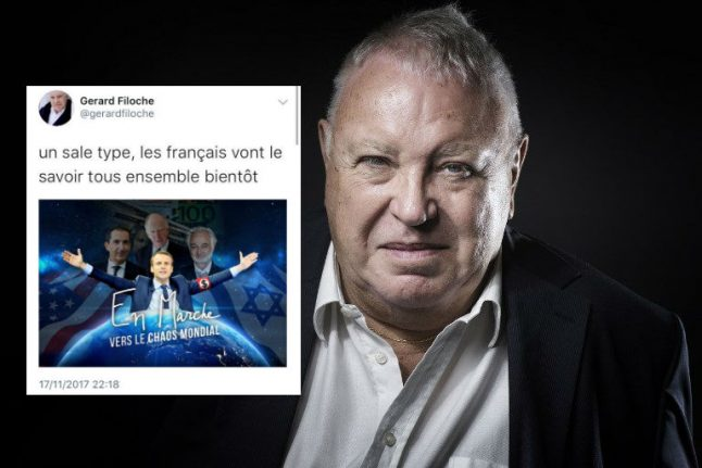 Top French socialist and anti-racism campaigner faces probe for anti-Semitic Macron tweet